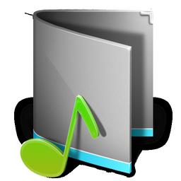 music, folder, alt icon