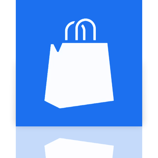 marketplace, windows, mirror icon