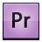 premiere, suite, creative icon