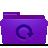 folder, backup, violet icon