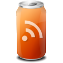 rss, subscribe, feed, drink icon