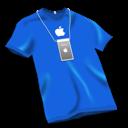 Bleu, Tshirt icon
