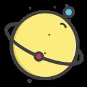 planet, earth, mars, univearse, venues icon