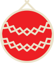 xmas, ball, christmas, decoration icon