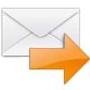letter, correct, mail, forward, envelop, right, ok, email, arrow, next, replied, message, yes icon
