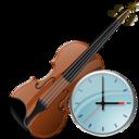 Clock, Violin icon