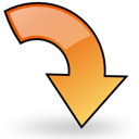rotate, right, object icon