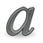 format, gnome, italic, 48, text icon
