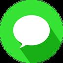 imessage, social network, apple, logo icon