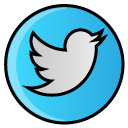 social, media, twitter, hayal, bird icon