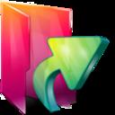 aurora,folder,links icon