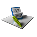 calendar, writing, schedule, date, write, edit icon