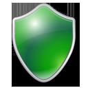 antivirus, protection, green, shield icon