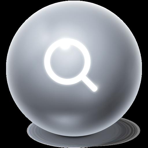 search, bright, ball, seek, find icon