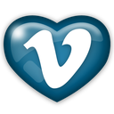 media, vimeo, social icon
