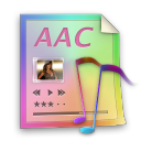 file, aac, document, paper icon