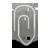 gnome, attachment, 48, mail icon