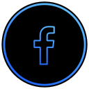 social media, network, facebook, program, app icon