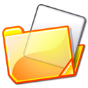 yellow, folder icon