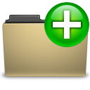 new, manilla, folder icon