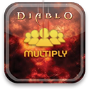 multiply, diablo icon