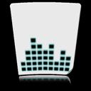 voice, file, paper, document, sound icon