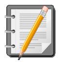 text, document, accessory, file, editor icon
