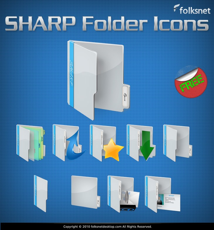 preview, sharp, folder icon