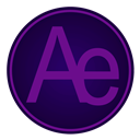 Adobe, Ae, icon