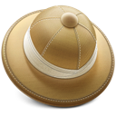Hat, Safari icon