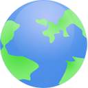 world, globe, planet, earth icon
