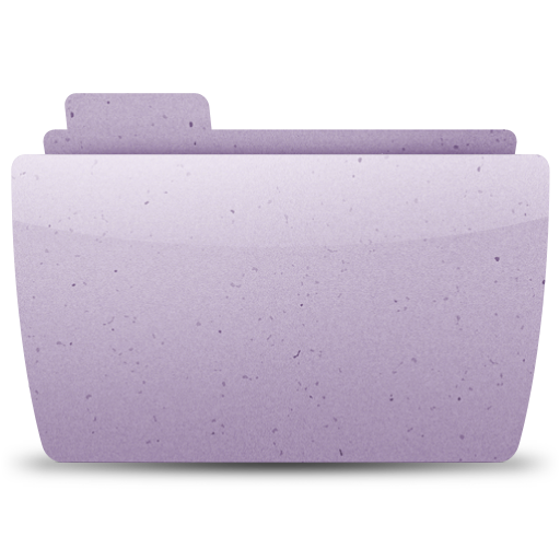 purple, generic, paper icon