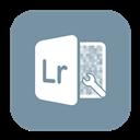 Lightroom, Solid icon