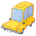 transport, transportation, vehicle, automobile, car icon
