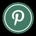 social, pinterest icon