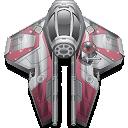Anakin, Star, Starfighter, Wars icon