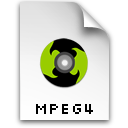 video, mpeg, mpg icon