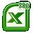 xls, excel, document, xlsx, file icon