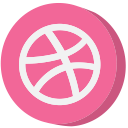social, dribbble, ball, socialmedia, social media, media, website icon