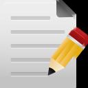 Edit, File icon