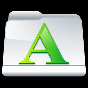 font, folder, my font icon