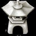 ishidourou,garden,lantern icon