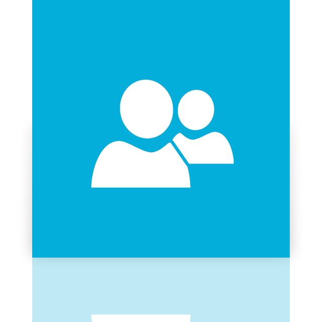 mirror, messenger, live icon