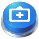 Button, Help, Perspective icon
