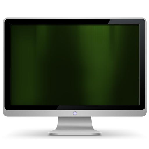 my computer, computer, dark, green icon