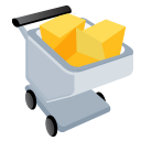 full, shopping, shopping cart, commerce, cart, buy icon