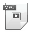 mpeg, video, mpg icon