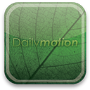 eco, dailymotion, green icon