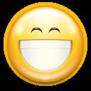 emotes face smile big icon
