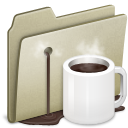 Alt, Coffee, Lightbrown icon